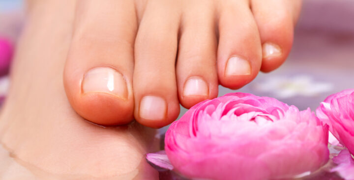 Caring for Feet in Summer Red Note Botanica