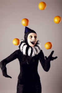 Circus Mime Juggling Oranges - SKINCARE 101 - Crop - Blog - Sm