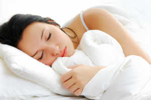 Asian Woman Asleep in White - SKINCARE 101 - Crop - Blog - Sm