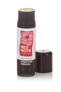 Perfume Tube Splendor in the Lemongrass Red Note Botanica